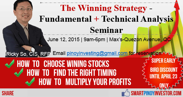 The Winning Strategy Seminar 2015 -