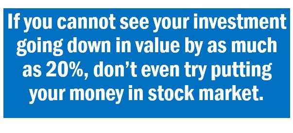 ang pag-invest sa Stock market ay di madalian na pera..